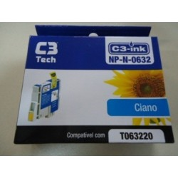 CARTUCHO C3TECH COMPATÍVEL EPSON MOD NP-N-0632 CIANO
