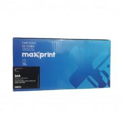 TONER MAXPRINT COMPATÍVEL HP MOD CF226A / 26A PRETO