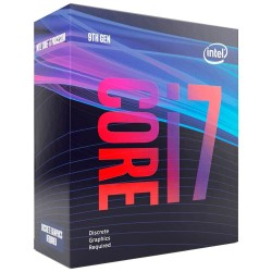 PROCESSADOR INTEL CORE i7-9700F 3.0 GHZ BOX 1151P (9º Geração)