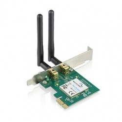 PLACA REDE PCI EXPRESS WIRELESS TP-LINK 300 MBPS TL-WN881ND ( 03 anos garantia )