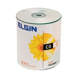 CD-R C/ 100 UNIDADES ELGIN MOD 82040