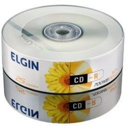 CD-R C/ 25 UNIDADES ELGIN MOD 82160