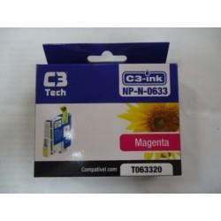 CARTUCHO C3TECH COMPATÍVEL EPSON MOD NP-N-0633 MAGENTA