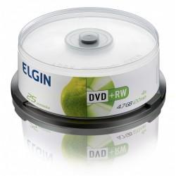 DVD-RW C/ 25 UNIDADES ELGIN MOD 82085