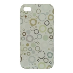 CAPA PROTETORA DESIGN CLUBTECH P/ IPHONE 4 CIRCLE CPCB0009