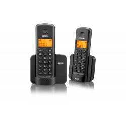 TELEFONE S/ FIO ELGIN TSF8002 VIVA-VOZ / IDENT. CHAMADAS / 1 RAMAL PRETO
