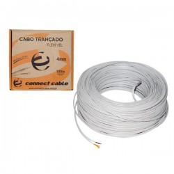 CABO TRANÇADO MULTITOC COAXIAL 4MM FLEXÍVEL C/ 100 MTS