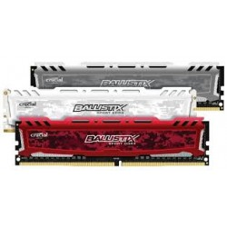 MEMÓRIA DDR4 8GB 2400 CRUCIAL BALLISTIX (1 ano garantia)