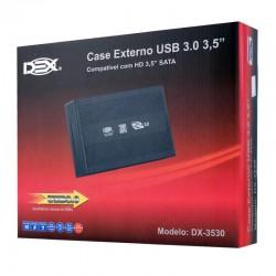 GAVETA EXTERNA USB 3.0 HD 3,5 SATA DEX MOD DX-3530