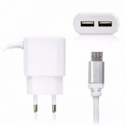 CARREGADOR MICRO 2 USB 2.1A DEX