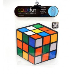 PAD MOUSE DECOR COLORFUN CUBO MAGICO RELIZA