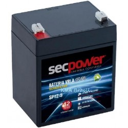 BATERIA P/ NOBREAK SECPOWER 12V 5AH MOD SP12-5