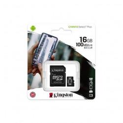 MICRO SD 16GB KINGSTON CLASS 10