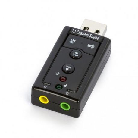 ADAPTADOR SOM USB 7.1