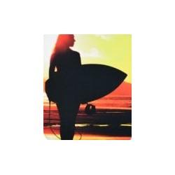 PAD MOUSE RETANGULAR CLASSIC SUNSET SURF RELIZA