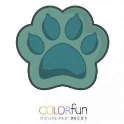 PAD MOUSE DECOR COLORFUN CAT PAW RELIZA