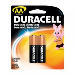 PACK C/ 2 PILHAS AA ALCALINA 74444 MN1500 DURACELL