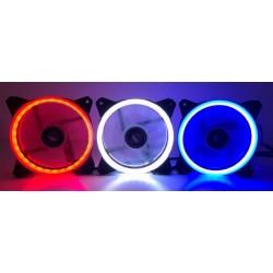 COOLER P/ GABINETE DEX 12X12 LED MOD DX-12D