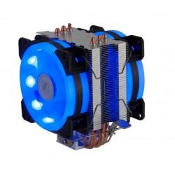 COOLER DUPLO DEX AMD FM2 / INTEL 21 LED MOD DX-9115D