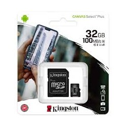 MICRO SD 32GB KINGSTON CLASS 10 CANVAS