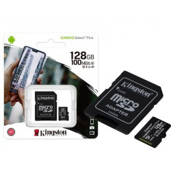 MICRO SD 128GB KINGSTON CLASS 10 CANVAS