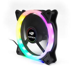 COOLER P/ GABINETE C3TECH 12X12 ARGB MOD F7-L200 RGB