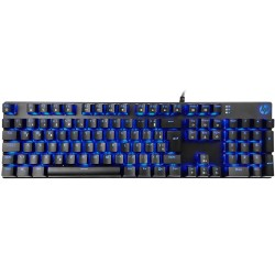 TECLADO HP MECÂNICO GAMER USB MOD GK400F LED AZUL